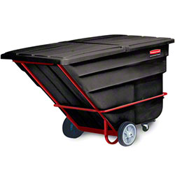 Rubbermaid® 2 cu yd. Tilt Truck - Heavy Duty, Gray