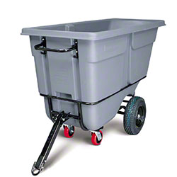 Rubbermaid® 1 cu yd. Tilt Truck - Heavy Duty, Gray