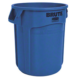 Rubbermaid® BRUTE® Vented Container - 20 Gal., Blue