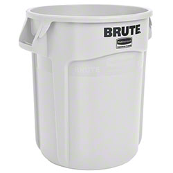 Rubbermaid® BRUTE® Vented Container - 20 Gal., White