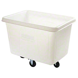 Rubbermaid® Cube Truck - 14 cu ft, White
