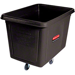 Rubbermaid® Cube Truck - 20 cu ft, Black