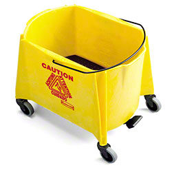 Rubbermaid® BRUTE® Mop Bucket-44 Qt., Foot Activated,Yel
