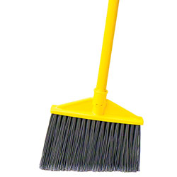 Rubbermaid® Angle Broom w/Vinyl Coated Metal Handle