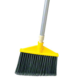 Rubbermaid® Angle Broom w/Aluminum Handle