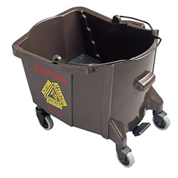 Rubbermaid® BRUTE® Mop Bucket-26-35 Qt., Foot Act.,Brown