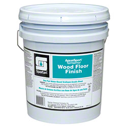 Spartan AquaSport Wood Floor Finish - 5 Gal.