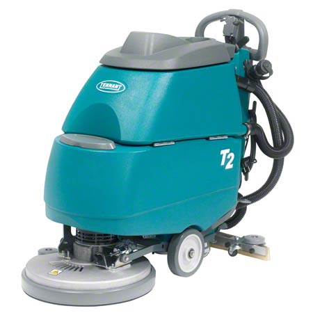 Tennant T2 Compact Battery Walk Behind Scrubber - 17""