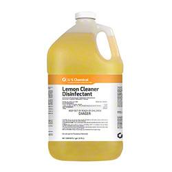 US Chemical Lemon Cleaner Disinfectant - Gal.