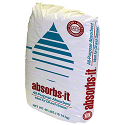 Oil-Dri® Absorbs-It® Granular Absorbent - 40 lb. Bag