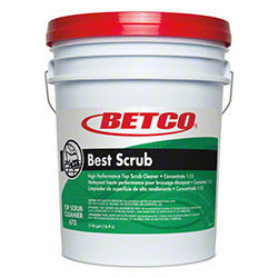 Betco® Best Scrub Top Scrub Cleaner - 5 Gal. Pail