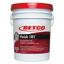 Betco® Finish 101™ Acrylic Polymer Floor Finish -5 Gal.