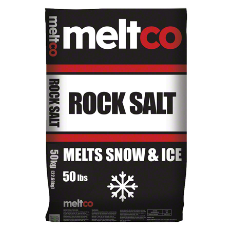 Meltco™ Rock Salt - 50 lb.