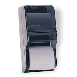 Von Drehle Twin Standard Bath Tissue Dispenser - Black