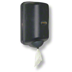 Von Drehle Mini Center Pull Towel Dispenser - Smoke