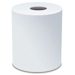 "Von Drehle Base Line White Hardwound Roll Towel -7.9"" x 800'"