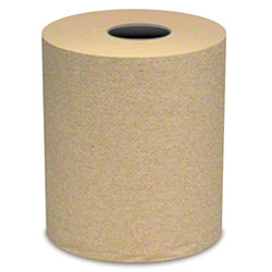 "Von Drehle Base Line Brown Hardwound Roll Towel -7.9"" x 800'"
