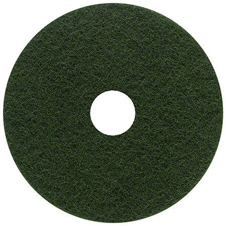 Type 55 Green Scrubber Floor Pad - 17""