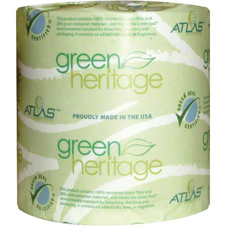 "Green® Heritage Pro 2-Ply Bathroom Tissue - 4.4"" x 3.8"""