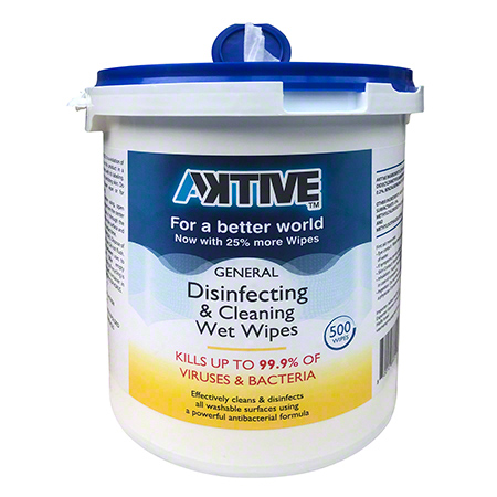 AKTIVE Disinfecting Wipes - 500 ct. Bucket