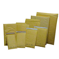 CPI #1 Kraft Self Seal Bubble Mailer - 7 1/4 x 12