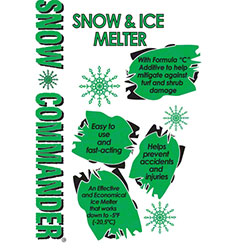 Snow Commander® Snow & Ice Melter - 50 lb. Bag