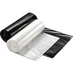 Rollpak MQ Blended Black LLDPE Liner - 38 x 57, 1.3 mil