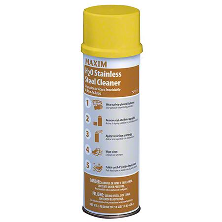 Maxim® H2O Stainless Steel Cleaner - 18 oz. Net Wt.