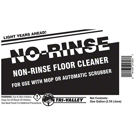 Tri-Valley No-Rinse Floor Cleaner - Gal.