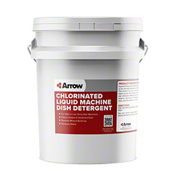 Arrow Chlorinated Liquid Machine Dish Detergent - 5 Gal.