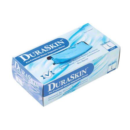 Liberty DuraSkin™ 4 mil Blue Nitrile - XL, Powder Free