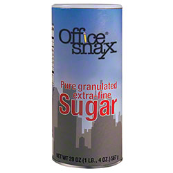 Office Snax Sugar Canister - 20 oz.