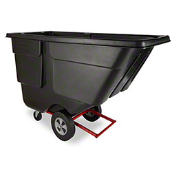 Rubbermaid® 1 cu yd. Tilt Truck - Utility, Black
