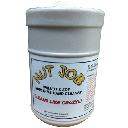 Nut-Job Walnut & Soy Industrial Hand Cleaner - Gal.