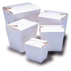 Fold-Pak® Carryout Food Pail - 16 oz., White