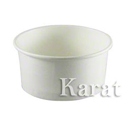 Karat® White Paper Food Container - 24 oz.