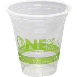 Karat® Earth® PLA Compostable Cups w/Generic Stock Print