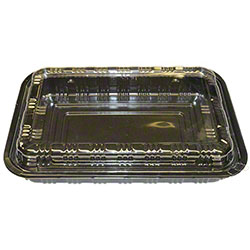 Large Bento - Black/Clear