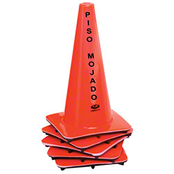 "Continental ""Wet Floor"" Cone - English/Spanish"