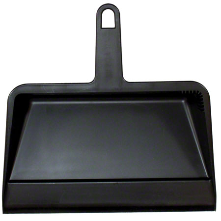 Impact® Black Hand-Held Dust Pan