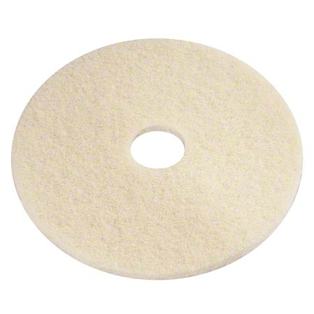 PRO-LINK® Beige Poly Thermal Burnish Pad - 22""
