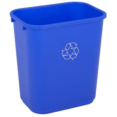 RECYCLE TRASH RECEPTACLE 28QT