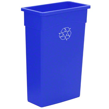 WALL HUGGER RECYCLING CONTAINER 23 GAL 4/CS