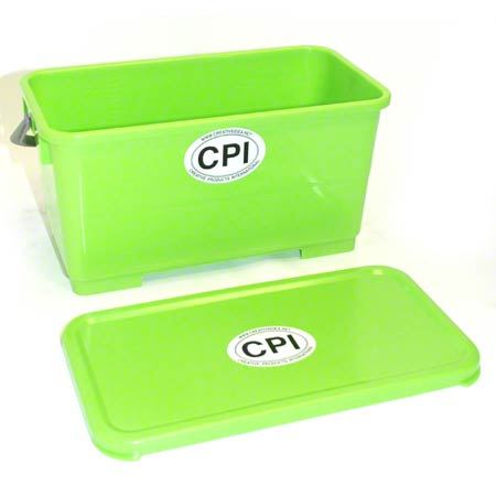 CPI 6GL BUCKET W/SEALING LID GREEN