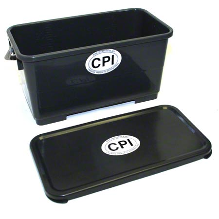 CPI 6GL BUCKET W/SEALING LID GRAY
