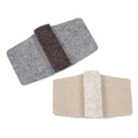 BEIGE WRAP AROUND FLOOR SAVER SMALL 100/PK