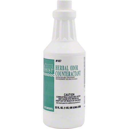 HERBAL ODOR COUNTERACTANT 1QT/ 12/CS