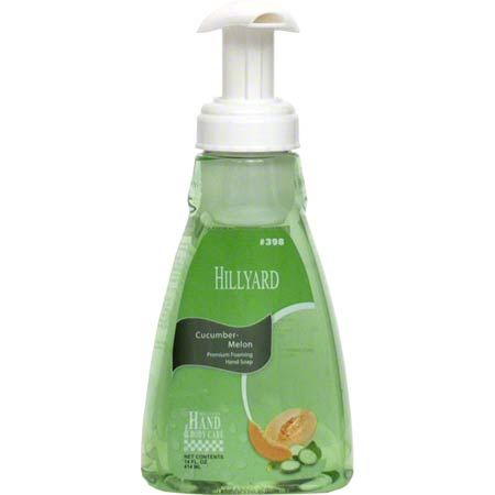 CUCUMER MELON FOAM SOAP 14OZ PUMP BOTTLE 6/CS