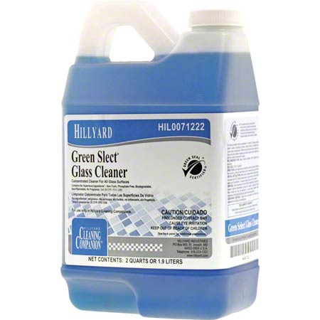C2/C3 GREEN SELECT GLASS CLEANER 1/2GAL/6/CS