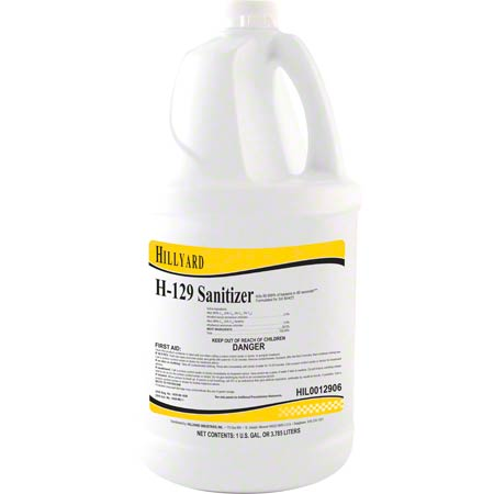 H-129 SANITIZER 1GAL/4/CS